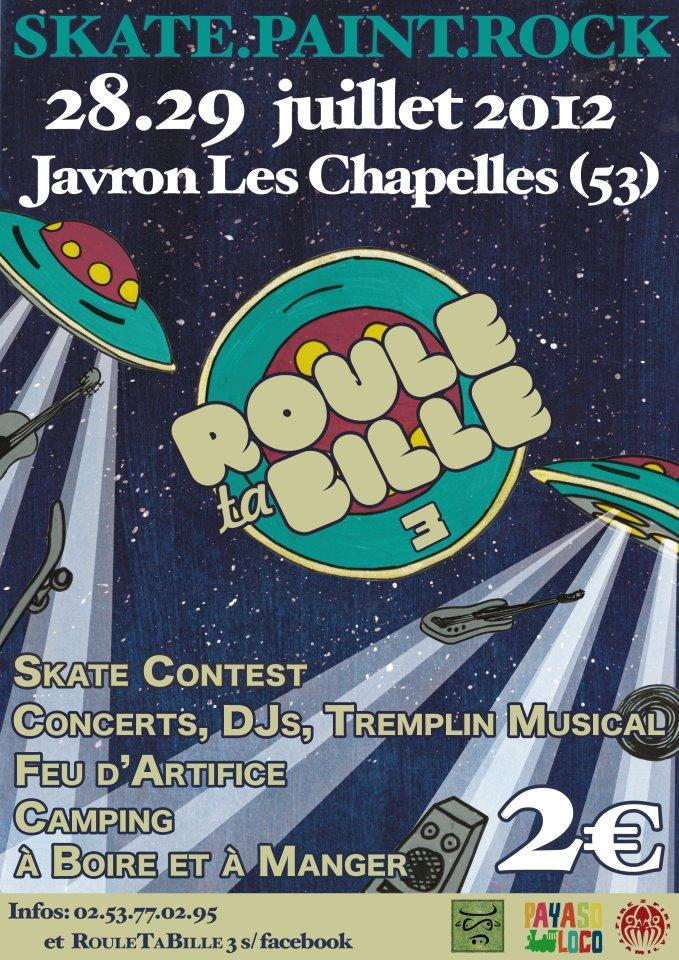 Roule ta Bille 3 | Javron les Chapelles (53) | le 28 juillet 2012